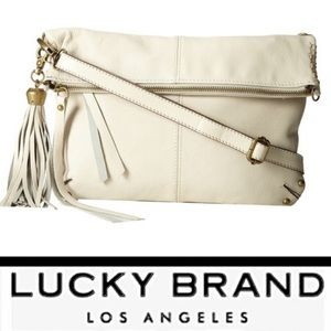 Lucky Brand Del Rey Fold Over Crossbody